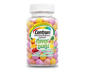 centrum flavor burst