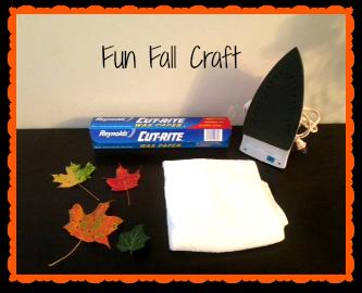 fun fall craft