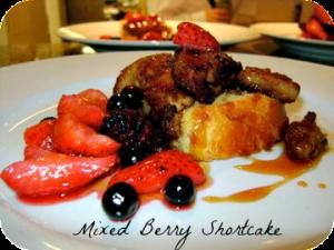 Mixed Berry Shortcake Recipe