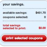 FREE Target Printable Coupons