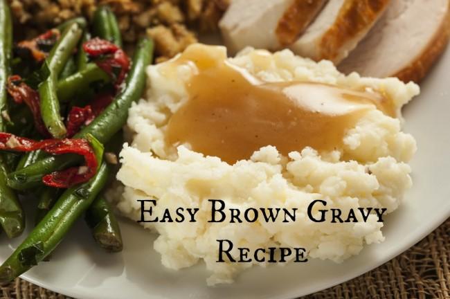 Easy-brown-gravy-recipe