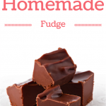 Simple Homemade Chocolate Fudge Recipe
