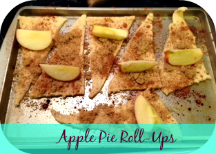 Easy Apple Pie Roll Ups Recipe