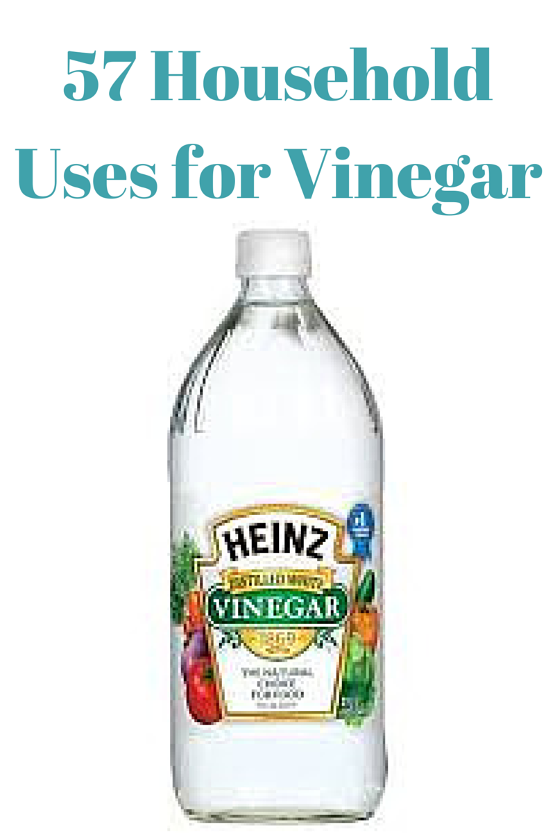 57 household uses for vinegar What kind of vinegar is used for cleaning