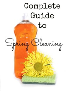 Spring Cleaning 101 – Complete Spring Cleaning Guide