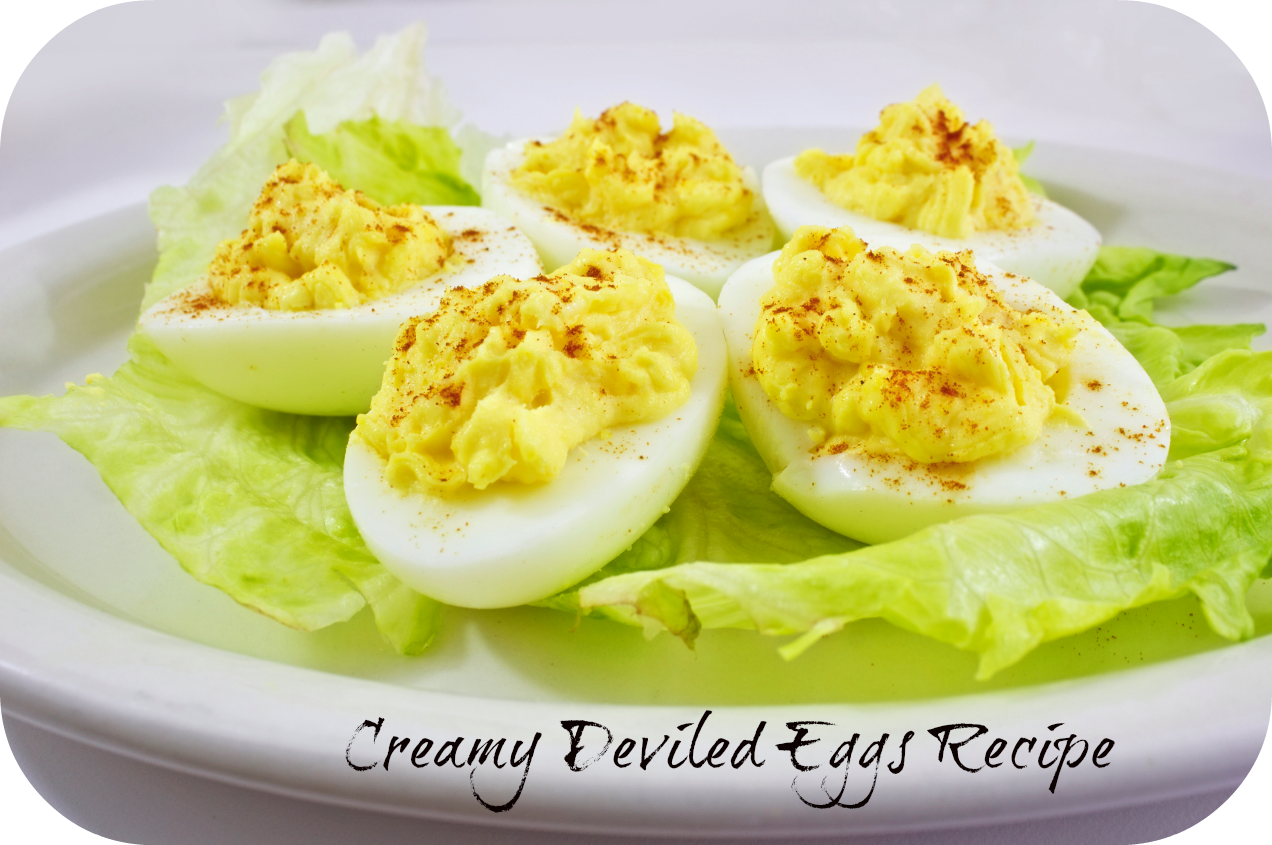 Creamy-Deviled-eggs- recipe