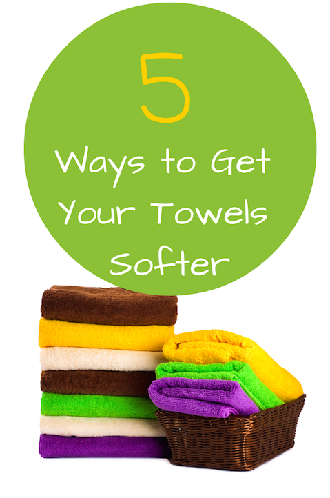5 simple ways to get your towels softer. Black Bedroom Furniture Sets. Home Design Ideas