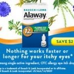 Save $2 on Alaway Antihistamine Eye Drops + 60 High Value Coupons!