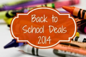 Back to School Deals  7/20– 7/26