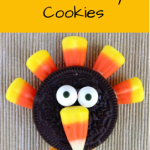 Easy Candy Corn Turkey Cookies