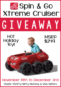 Spin & Go Xtreme Cruiser Giveaway