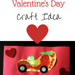 Race Car Valentine Craft & Gift Idea