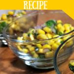Sweet and Spicy Corn Salsa Recipe (Chipotle Copycat)