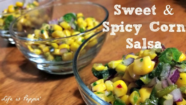Sweet and Spicy Corn Salsa Recipe