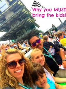 Why good parents bring their kids to the Indy 500