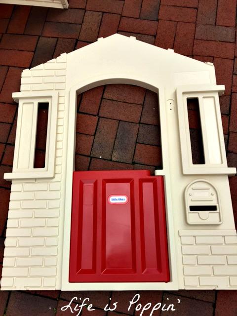 little tikes cozy cottage door