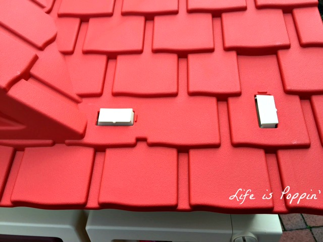 little tikes cozy cottage roof