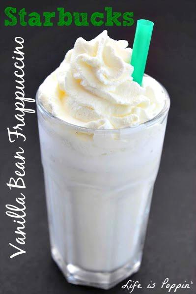 Copycat Starbucks Vanilla Bean Frappuccino Final