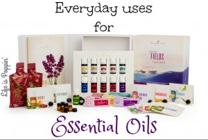 Everyday Essential Oil Uses