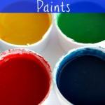 2 Ingredient Edible Finger Paints
