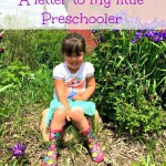 A Letter to My Preschooler