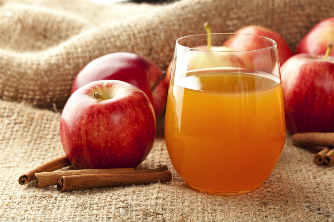 how to drink apple cider juice