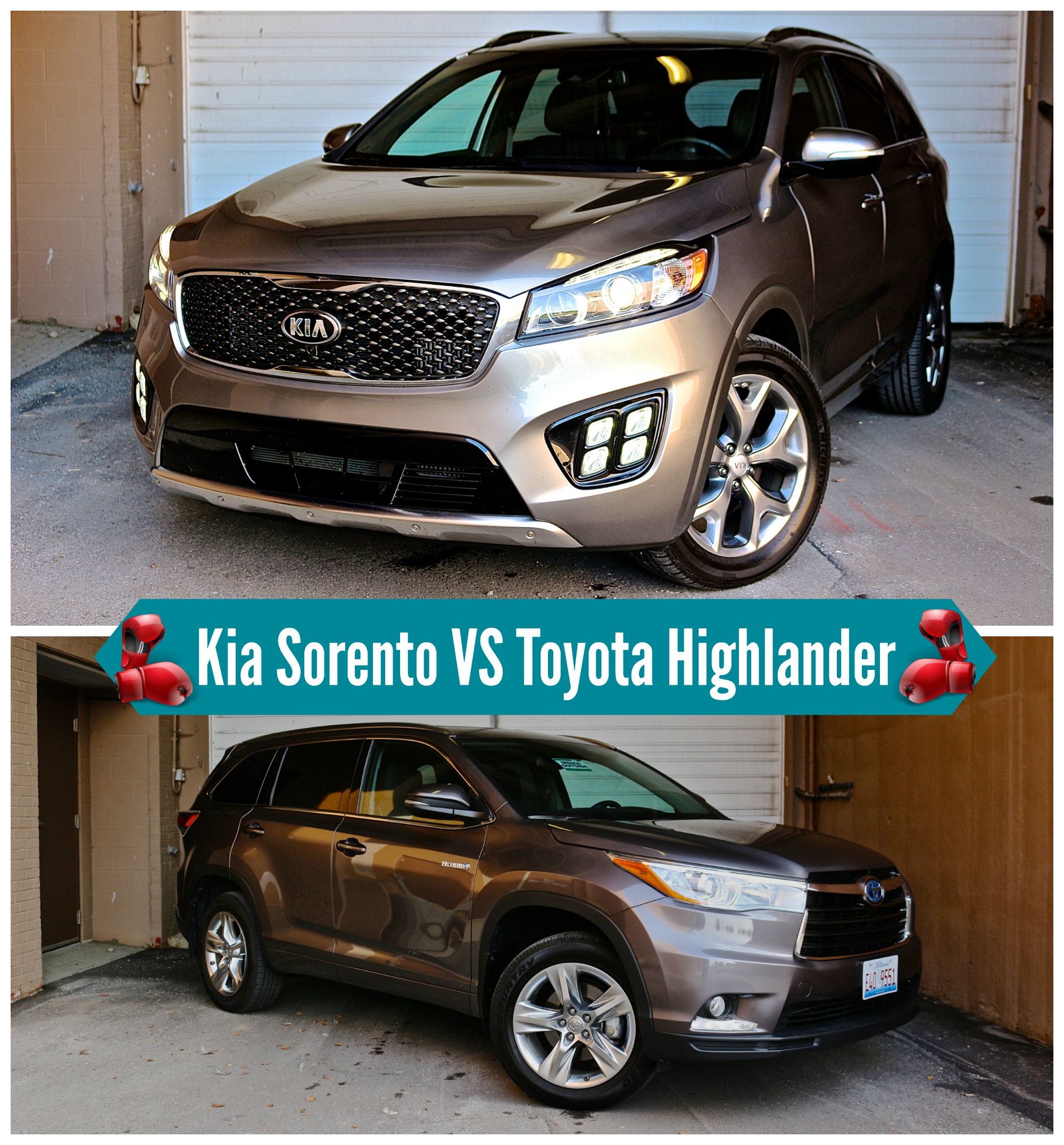 toyota highlander hybrid kia sorento limited review life is poppin 39. Black Bedroom Furniture Sets. Home Design Ideas