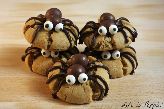 Spooky Spider Cookies Recipe — Dishmaps