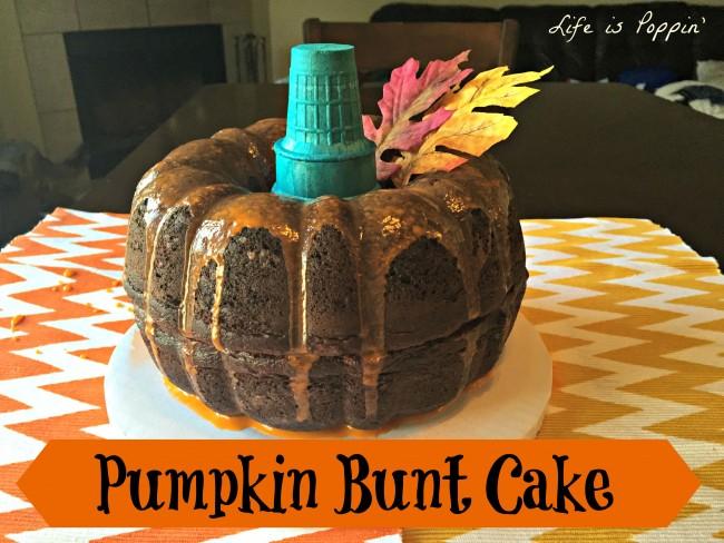 How to Make a Pumpkin Bunt Cake