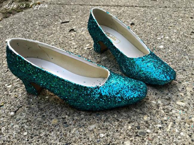 DIY Elsa Shoes