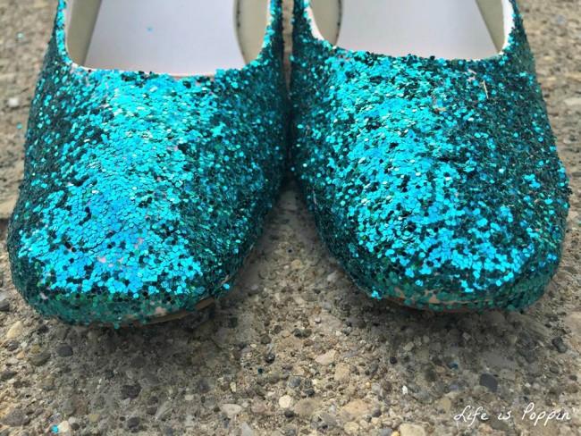Glitter Shoes Halloween