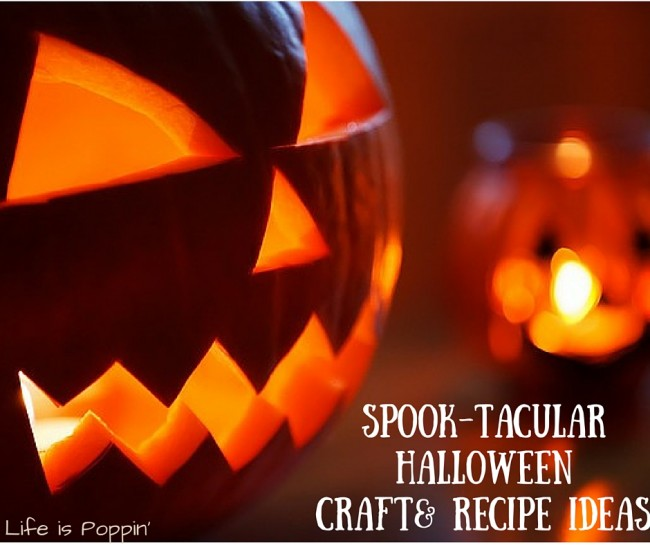 Spook-tacular Halloween DIY Craft & Recipe Ideas
