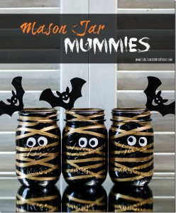 Mason Jar Mummies