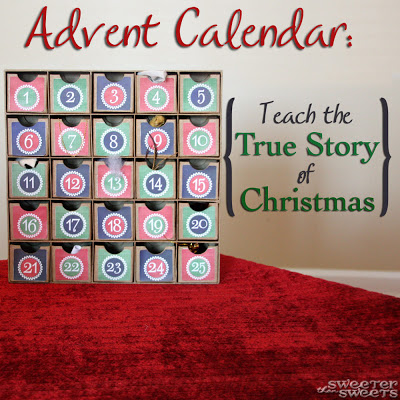 advent calendar box