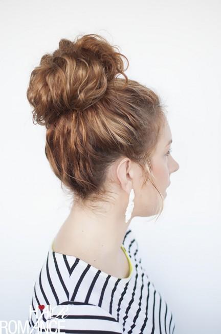 CurlyTopknot