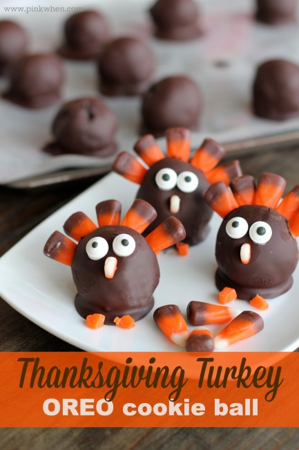 Oreo Cookie Balls Turkey