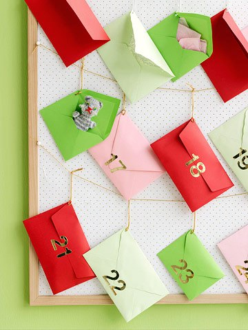 envelope advent