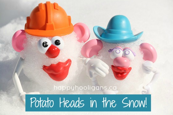 Potato Head Snowman