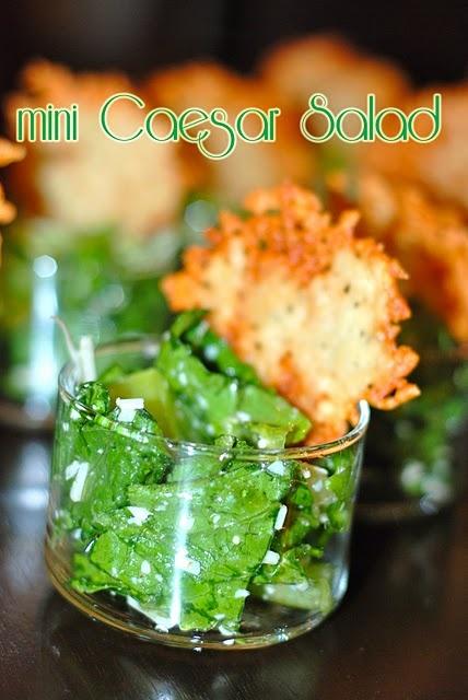 Mini Cesar Salad