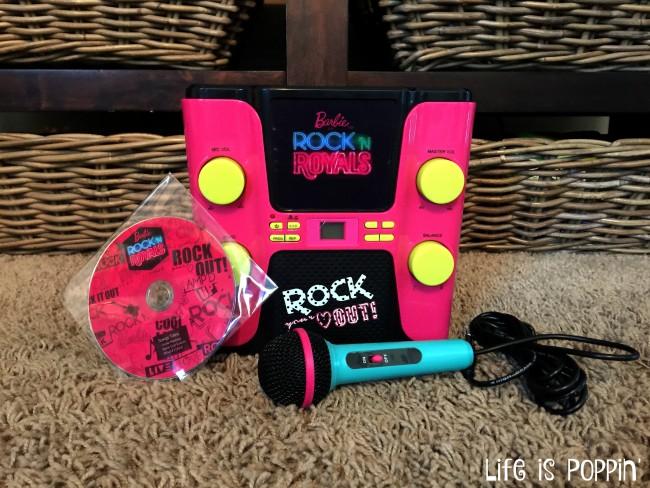 Barbie Rock 'N Royals Karaoke Machine