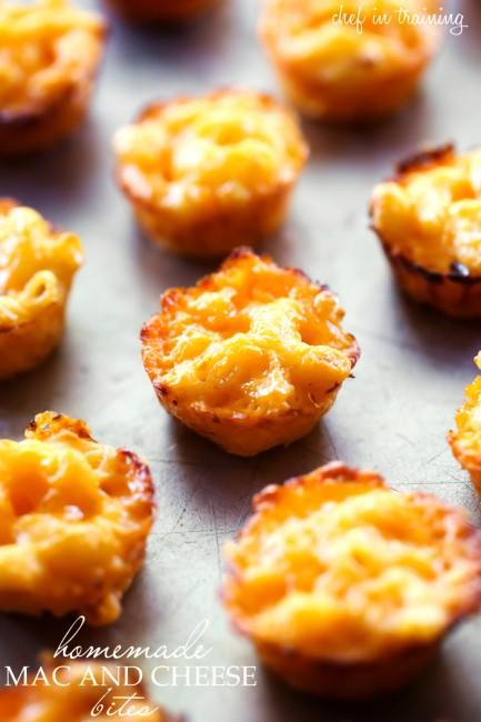 mini mac and cheese