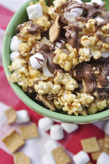 S'more Caramel Corn