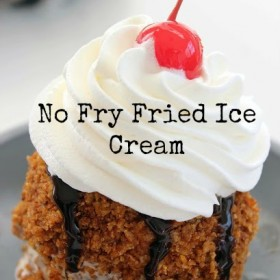 No Fry Fried Ice Cream Recipe