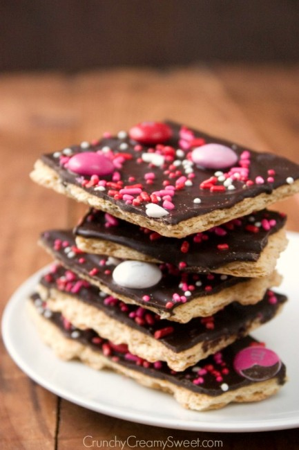 Valentine's Day Chocolate Bark Recipe