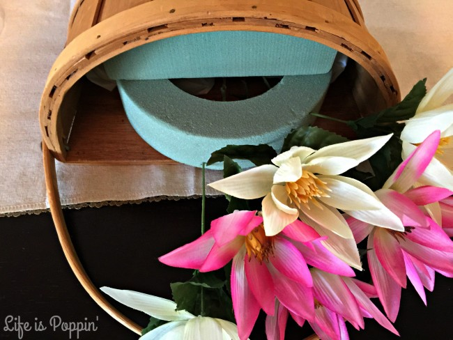 Flower Basket Flowers DIY