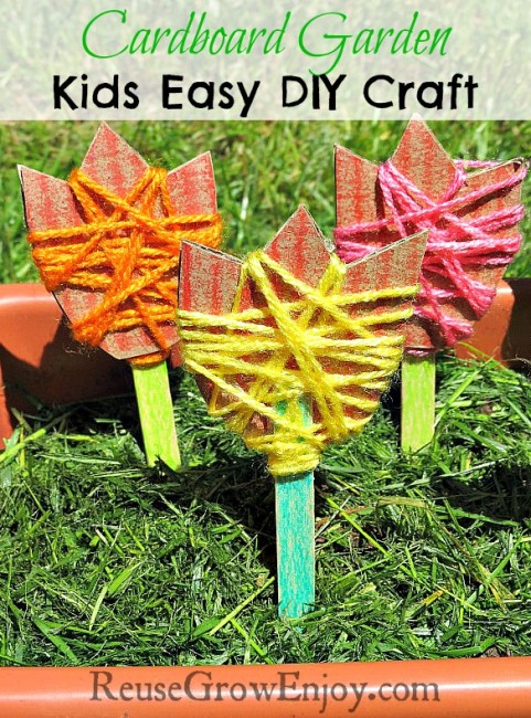 Cardboard-Garden-Kids-Easy-DIY-Craft