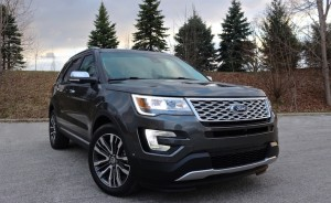 2016 Ford Explorer Platinum – Go Big or Go Home