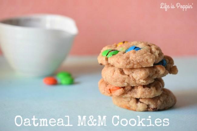 Oatmeal-M&M-Cookies-Recipe