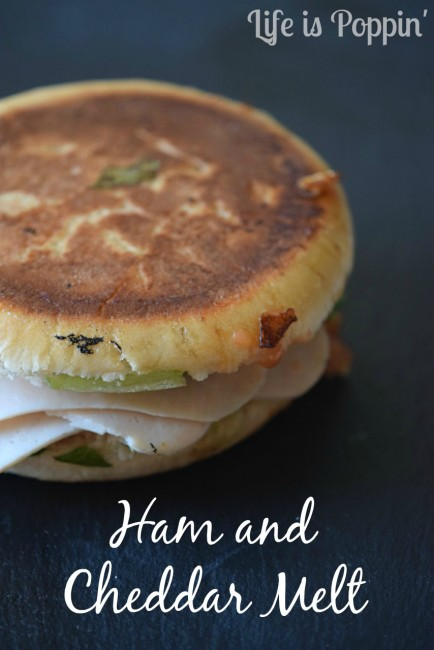 Ham and cheddar melt