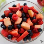 Red, White & Blue Fruit Salad